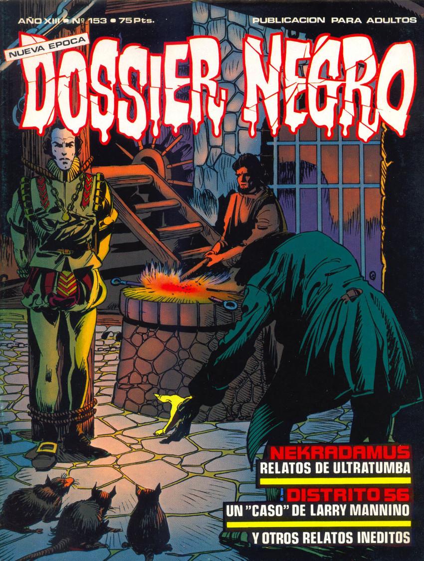 Couverture de Dossier Negro -153- Nekradamus/Distrito 56