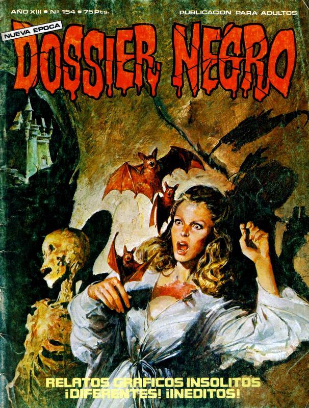 Couverture de Dossier Negro -154- Número 154