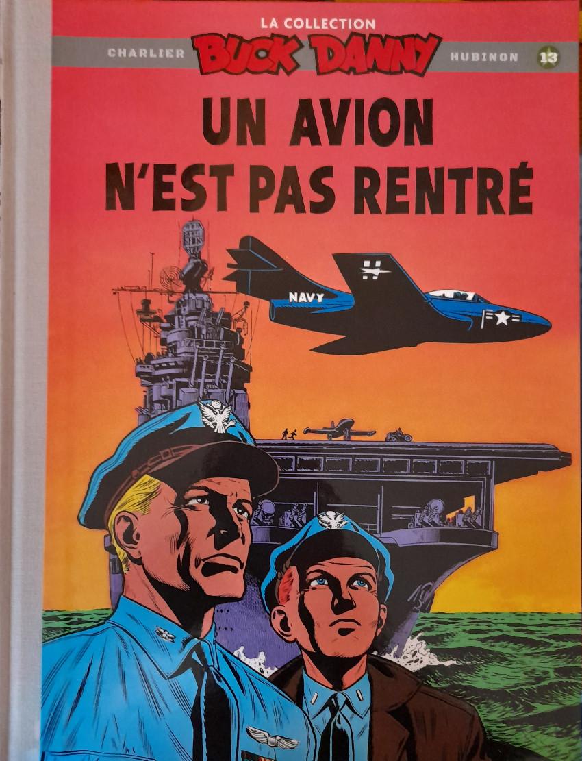 Couverture de Buck Danny (La collection) (Hachette) -13- Un avion n'est pas rentré