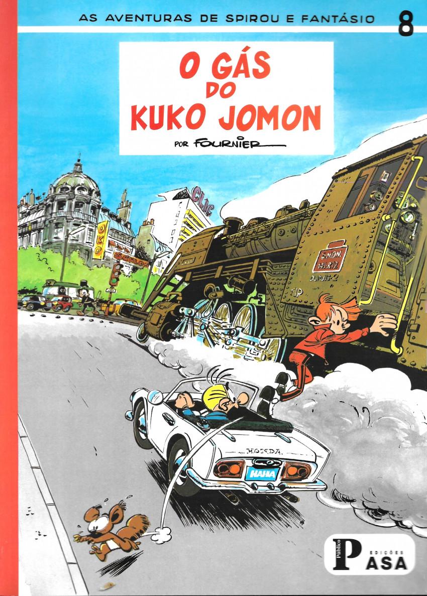Couverture de Spirou e Fantásio (en portugais) -21- O gás do Kuko Jomon