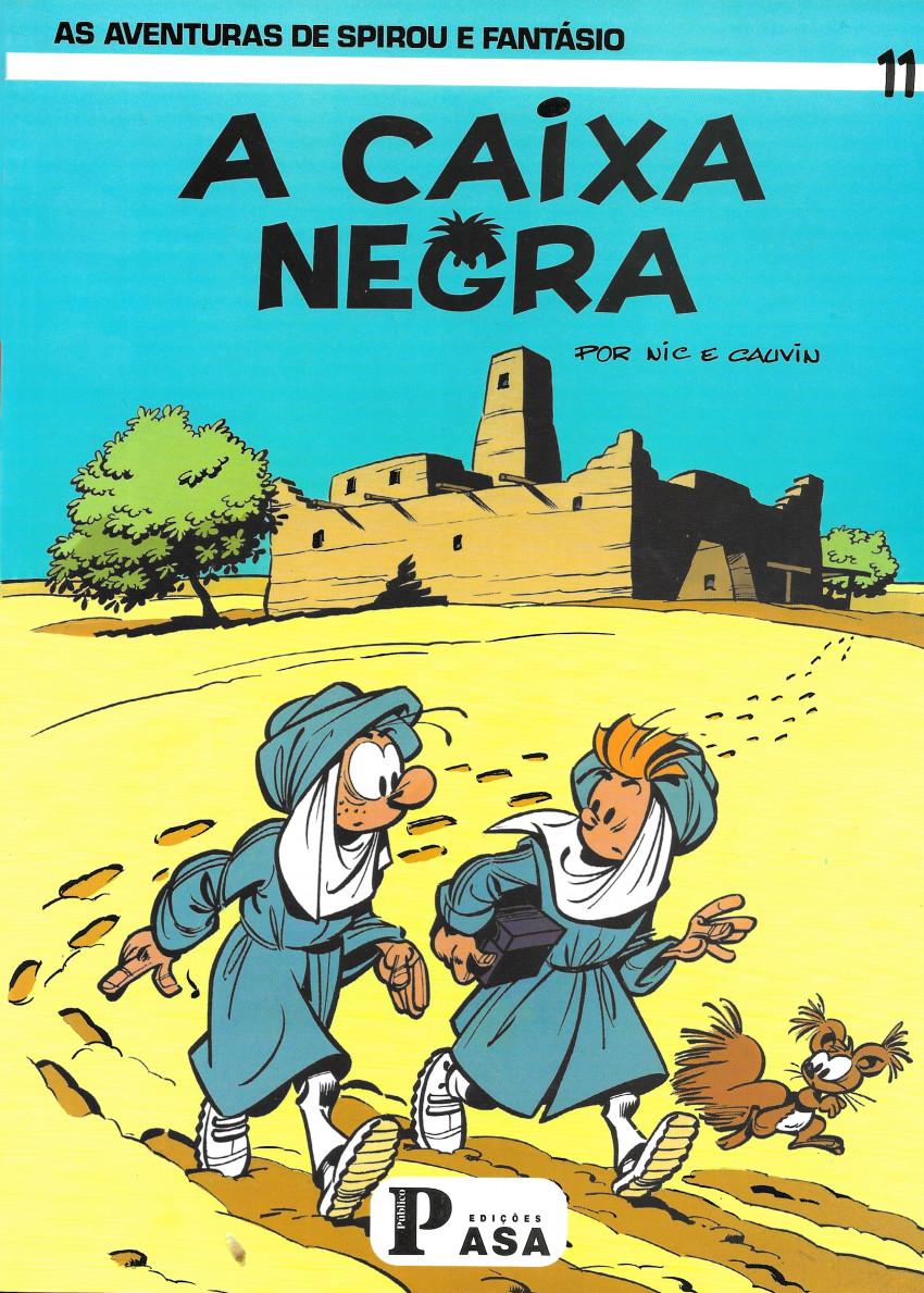 Couverture de Spirou e Fantásio (en portugais) -31- A caixa negra