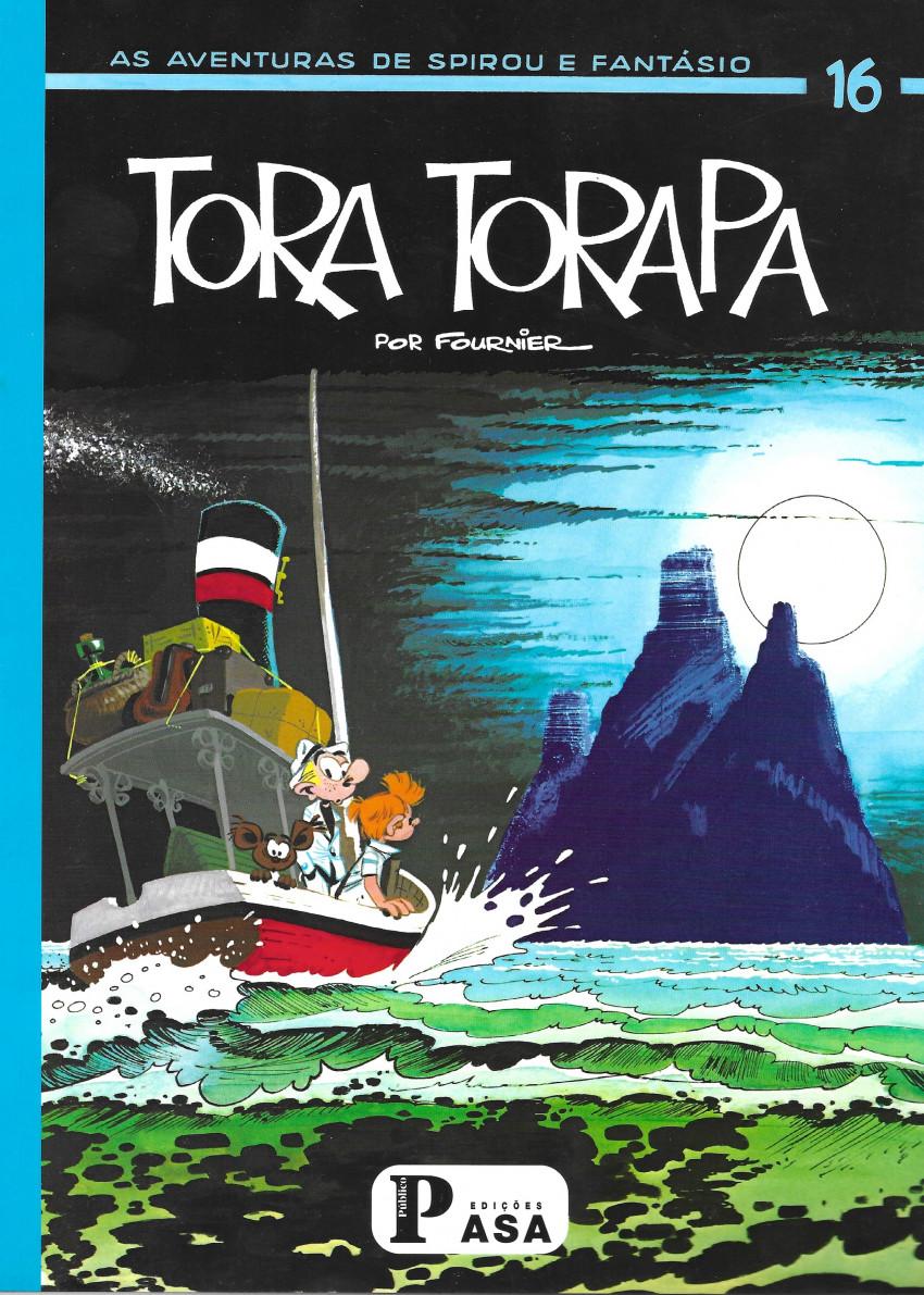 Couverture de Spirou e Fantásio (en portugais) -23- Tora Torapa