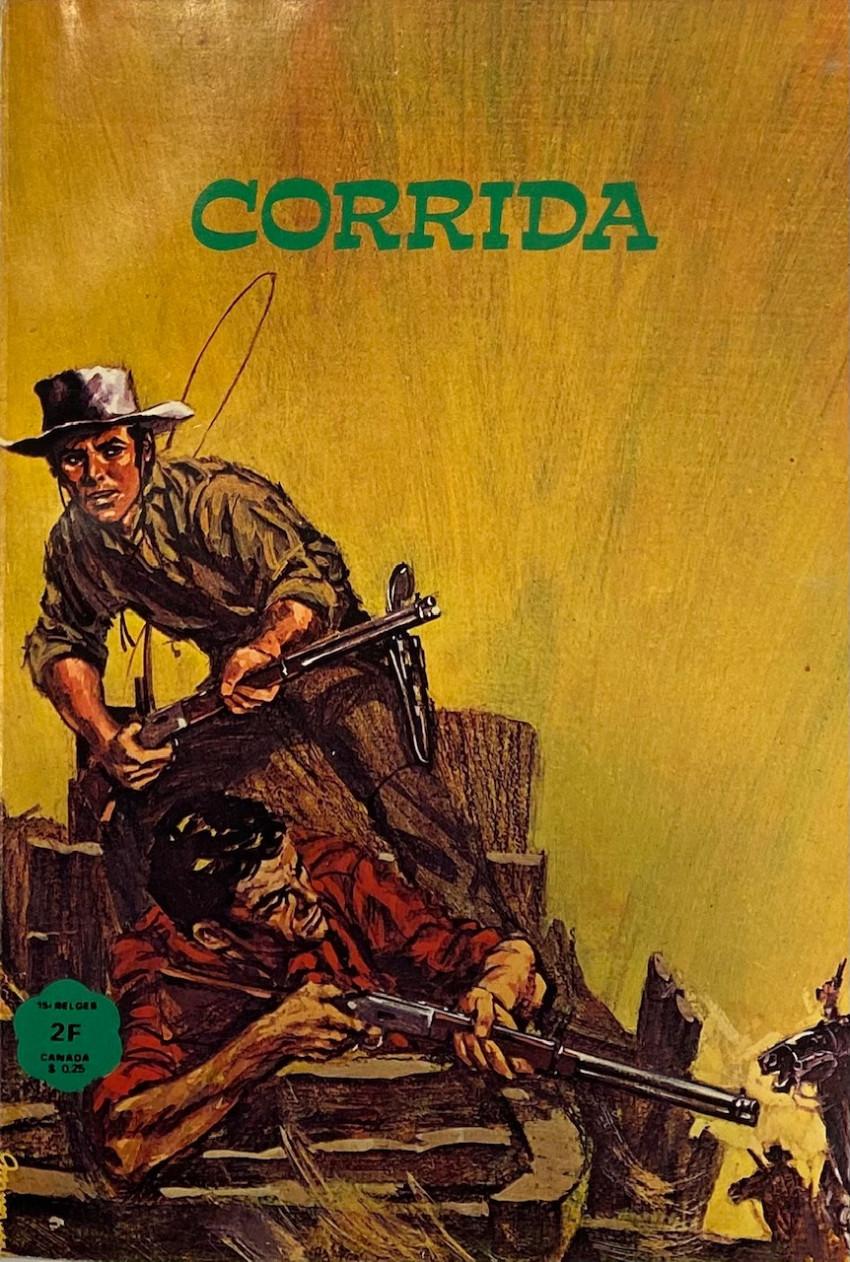 Couverture de Corrida (Editions de Poche) -7- Terreur à Los Pocitos