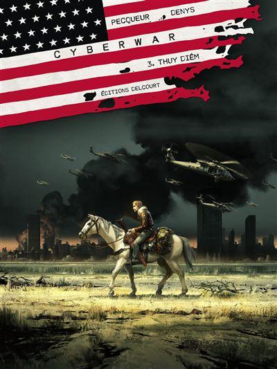 Couverture de Cyberwar -3- Thuy Diêm