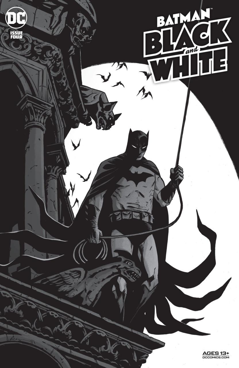 Couverture de Batman Black and White (DC Comics - 2021) -4- Issue # 4