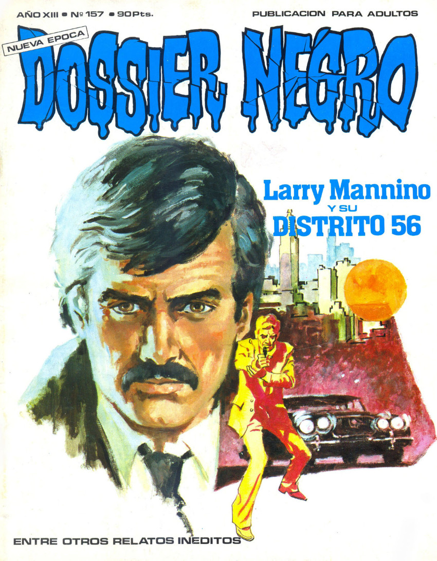 Couverture de Dossier Negro -157- Larry Mannino y su distrito 56