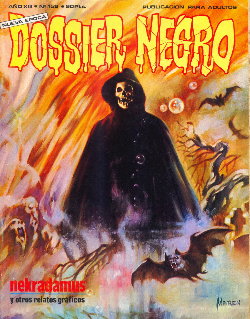 Couverture de Dossier Negro -158- Nekradamus