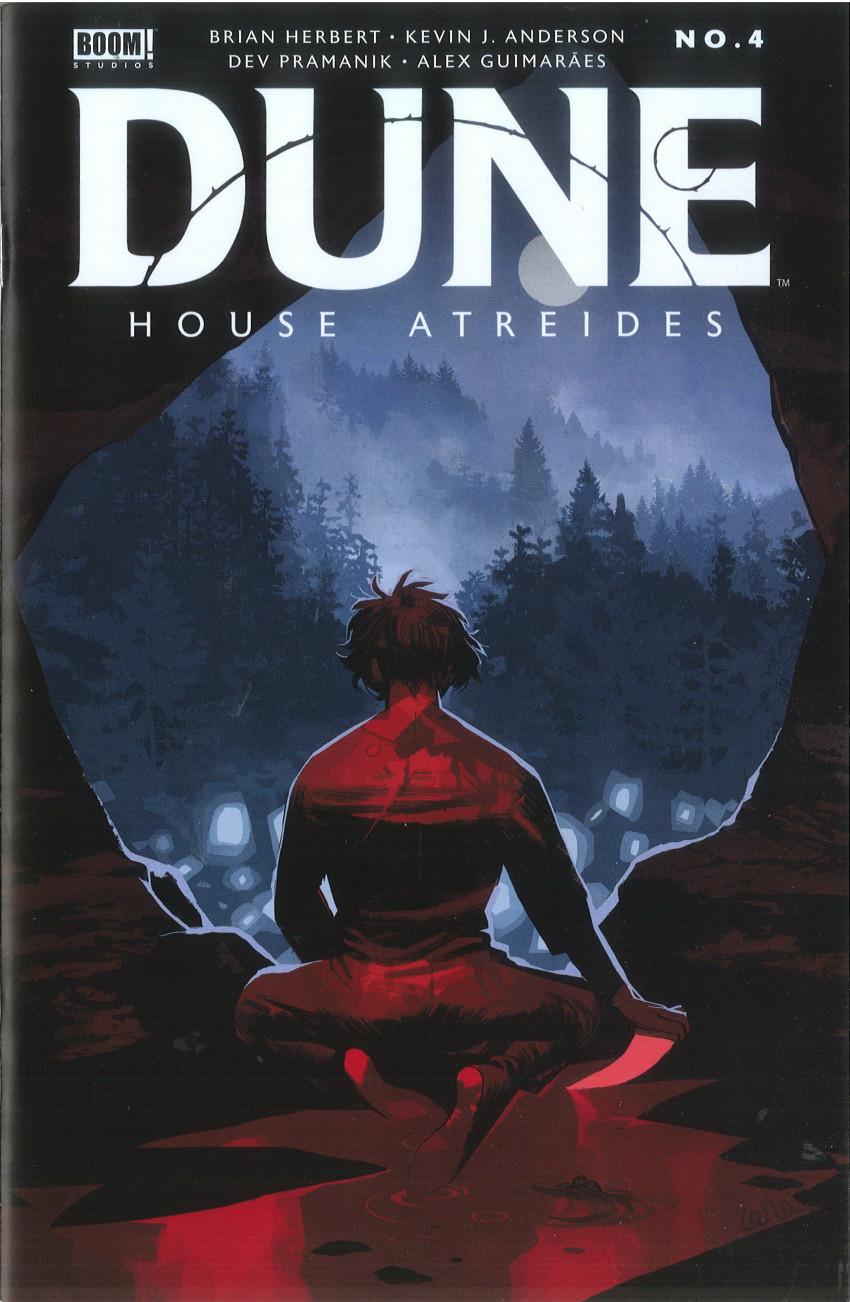 Couverture de Dune: House Atreides -4- Issue #4