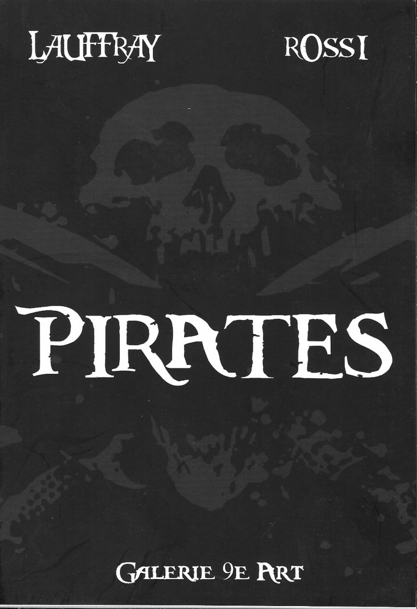 Couverture de (AUT) Lauffray - Pirates