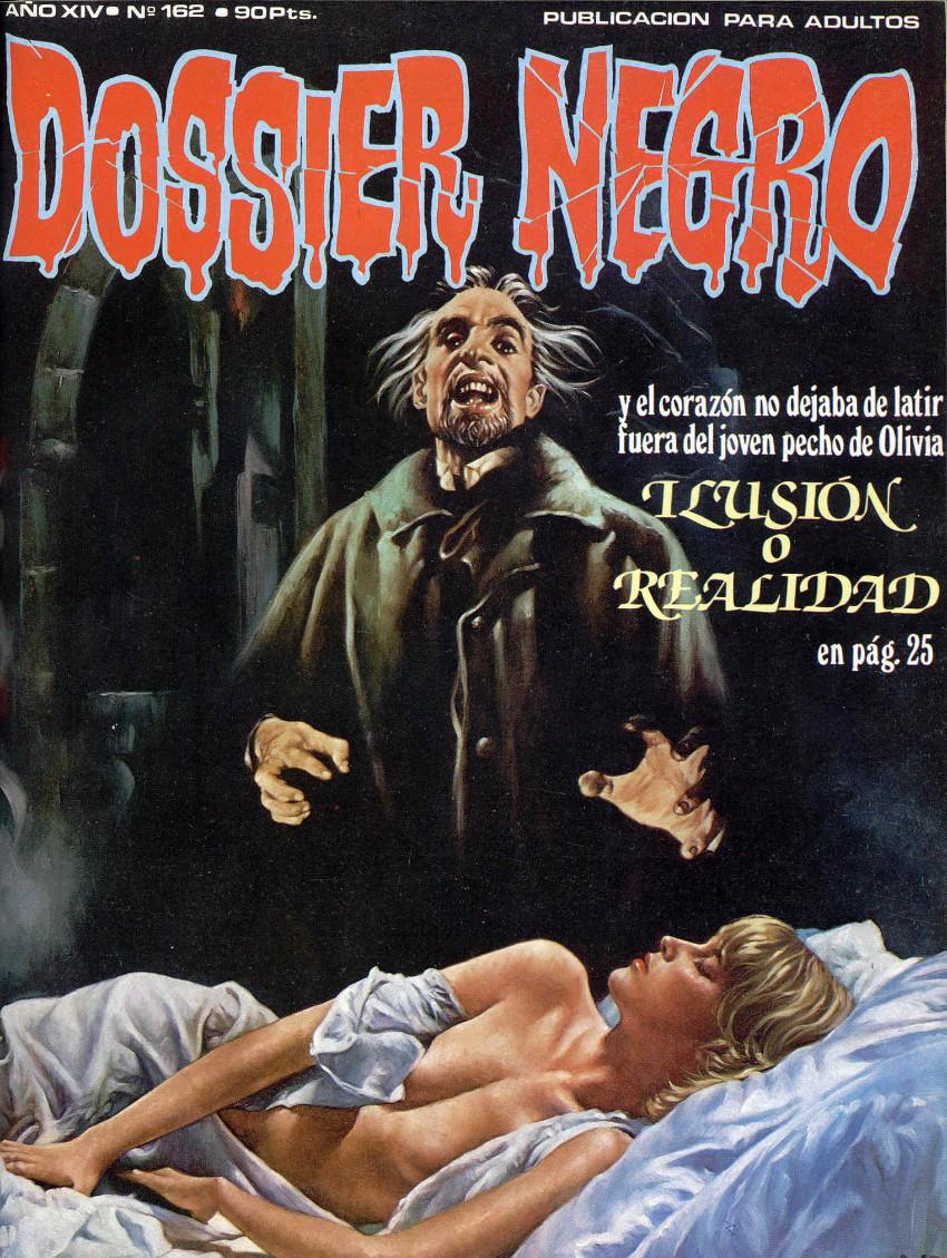 Couverture de Dossier Negro -162- Ilusión o realidad