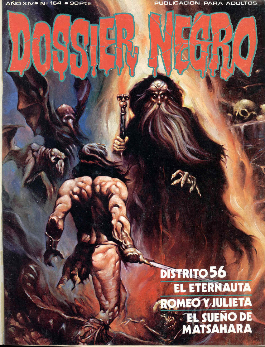 Couverture de Dossier Negro -164- Número 164
