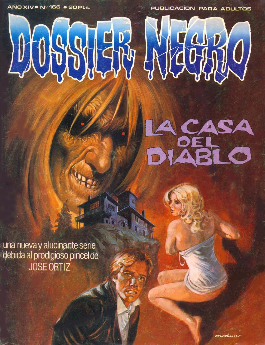 Couverture de Dossier Negro -166- La casa del Diablo