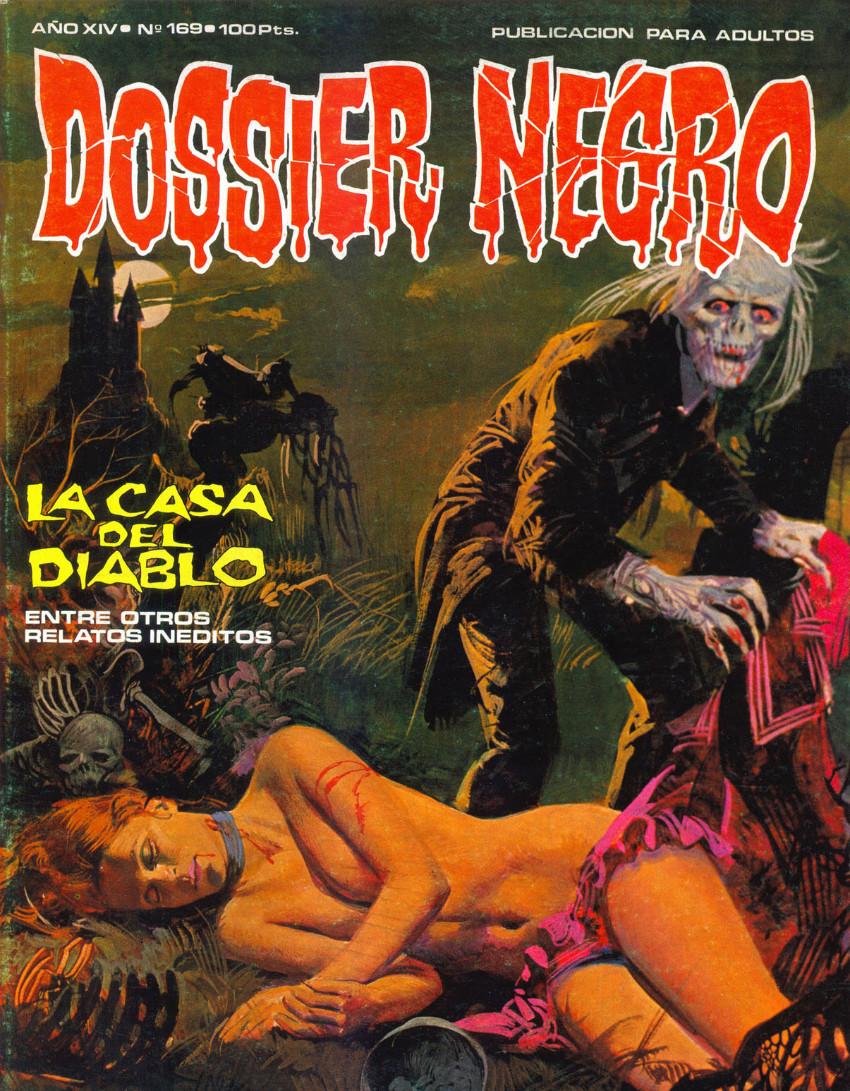 Couverture de Dossier Negro -169- La casa del Diablo