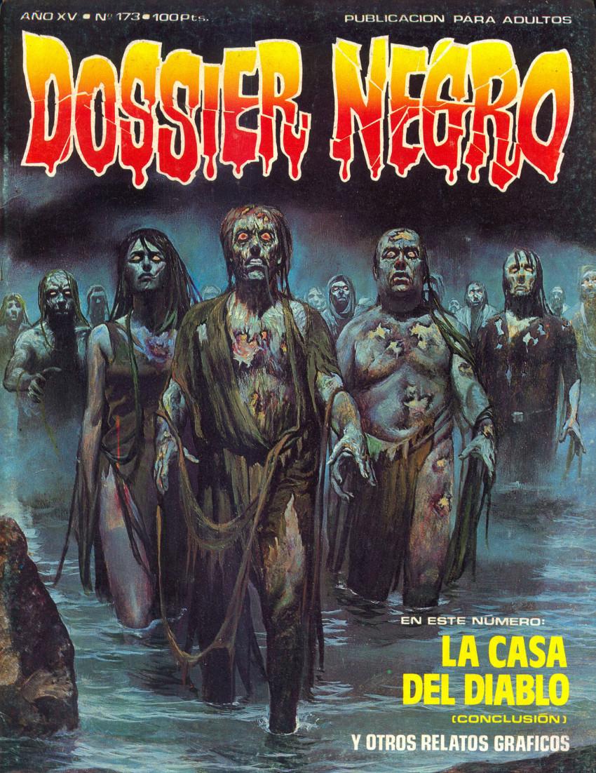 Couverture de Dossier Negro -173- La casa del Diablo (conclusión)