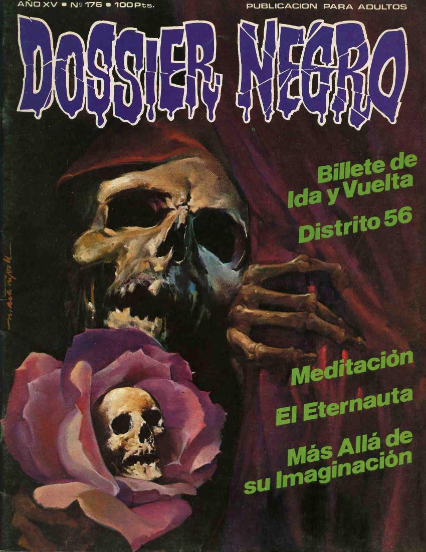 Couverture de Dossier Negro -176- Número 176