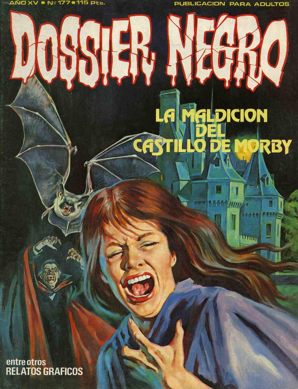 Couverture de Dossier Negro -177- La maldición del castillo de Morby