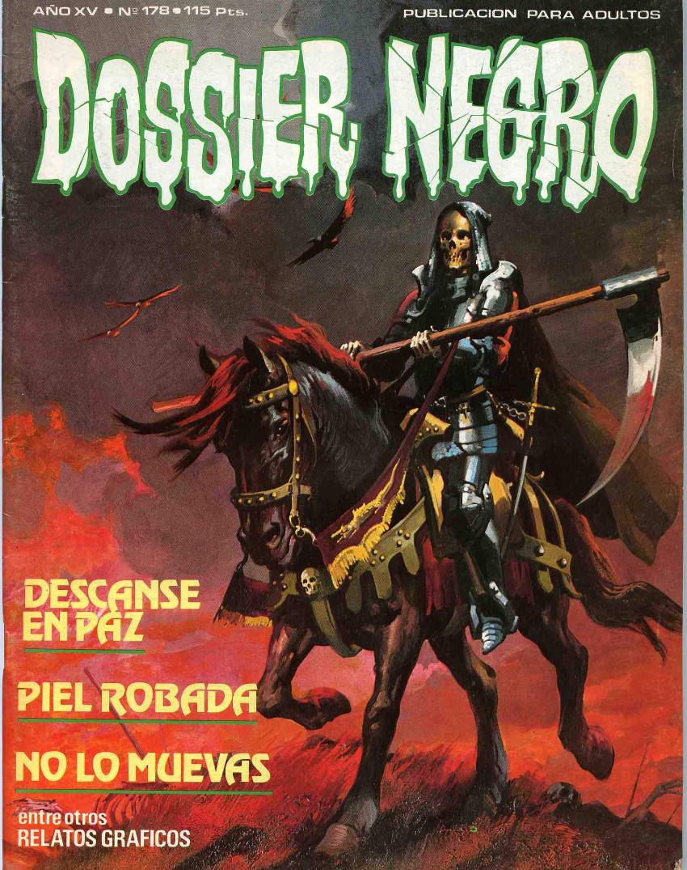 Couverture de Dossier Negro -178- Número 178