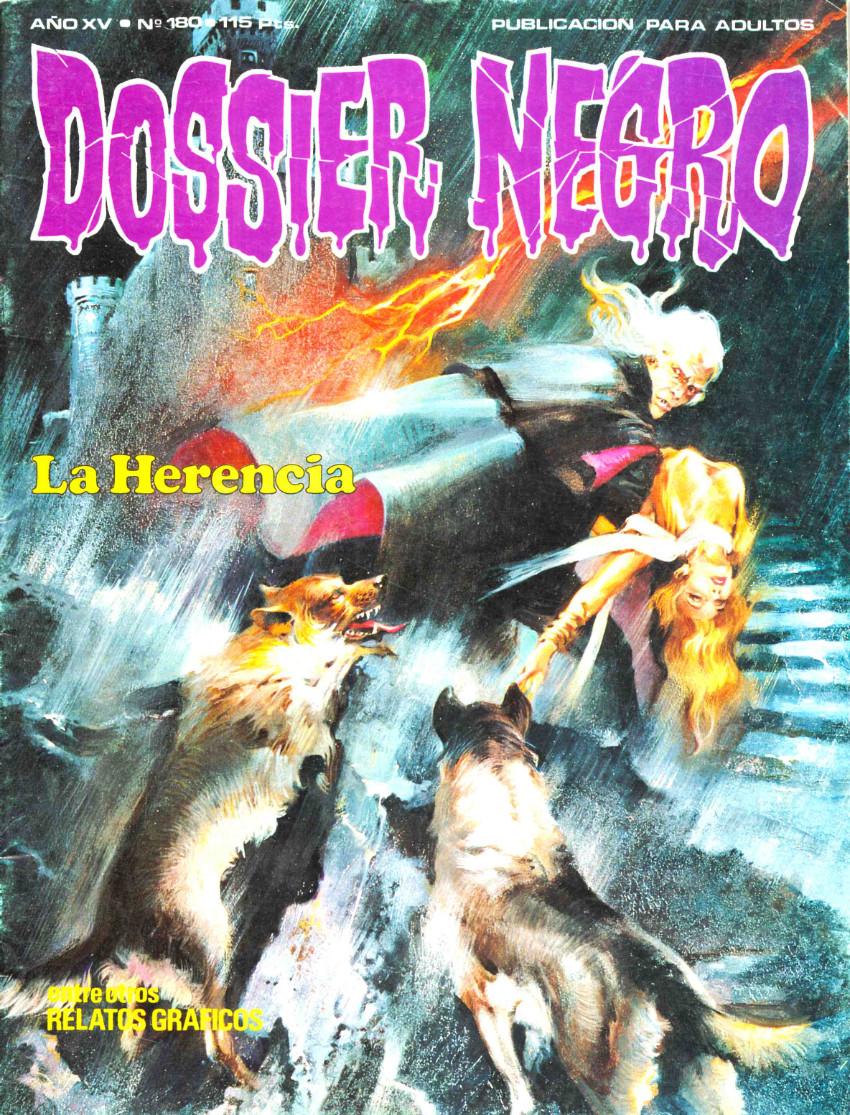 Couverture de Dossier Negro -180- La herencia