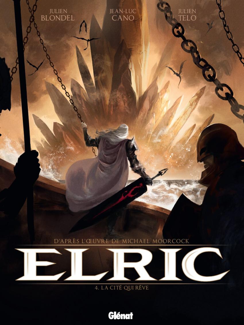 Couverture de Elric (Blondel) -4- La cité qui rêve