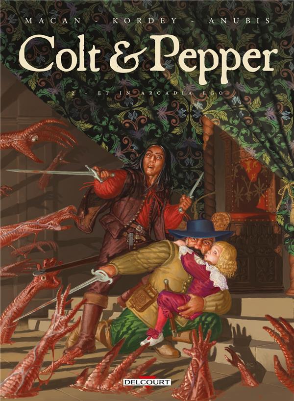 Couverture de Colt & Pepper -2- Et in arcadia ego