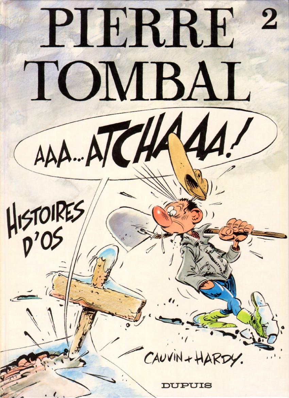 Couverture de Pierre Tombal -2- Histoires d'os