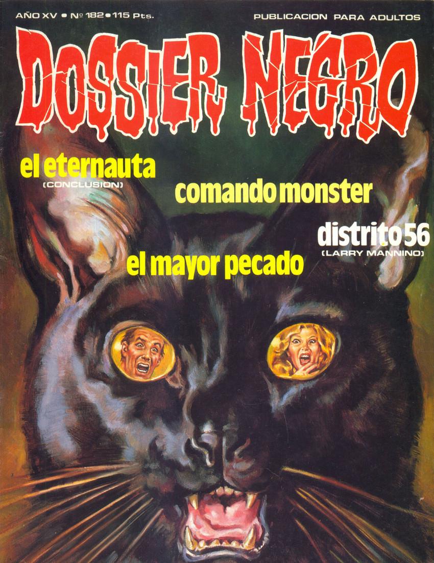 Couverture de Dossier Negro -182- Número 182