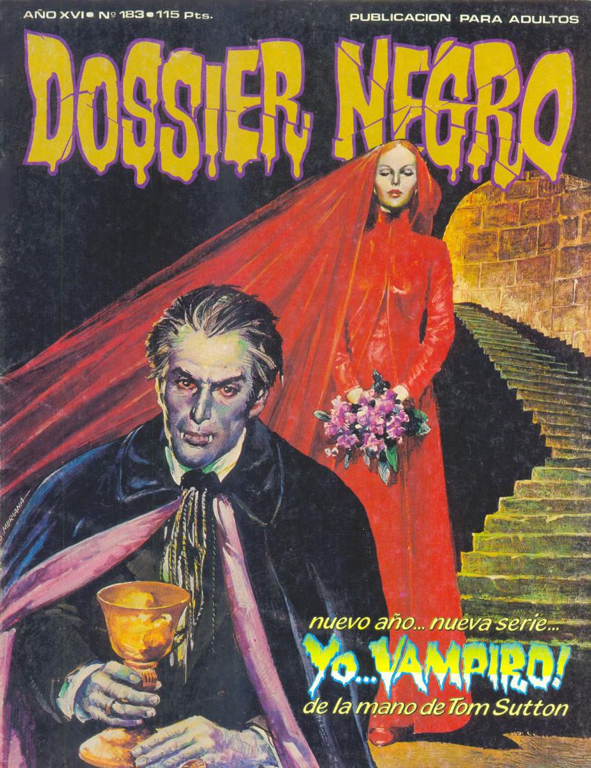 Couverture de Dossier Negro -183- Yo... vampiro !
