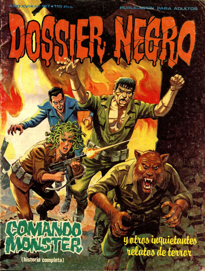 Couverture de Dossier Negro -187- Comando Monster
