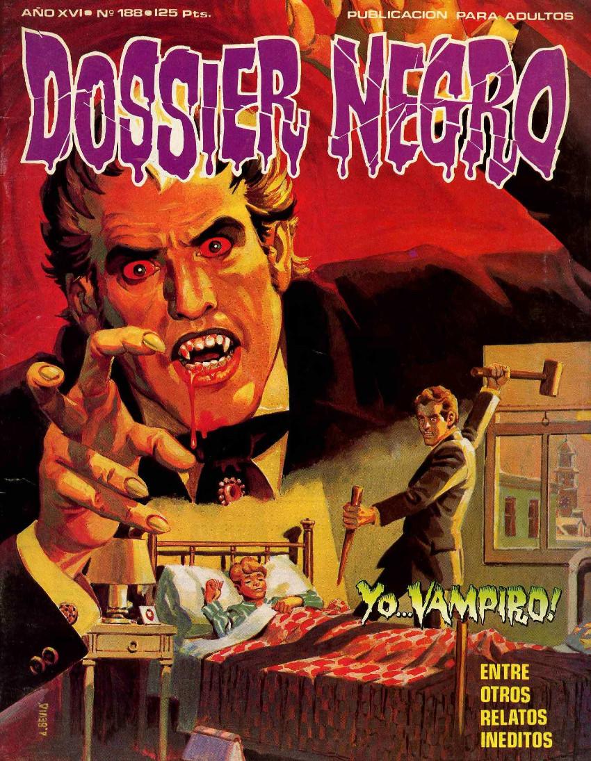 Couverture de Dossier Negro -188- Yo... vampiro !