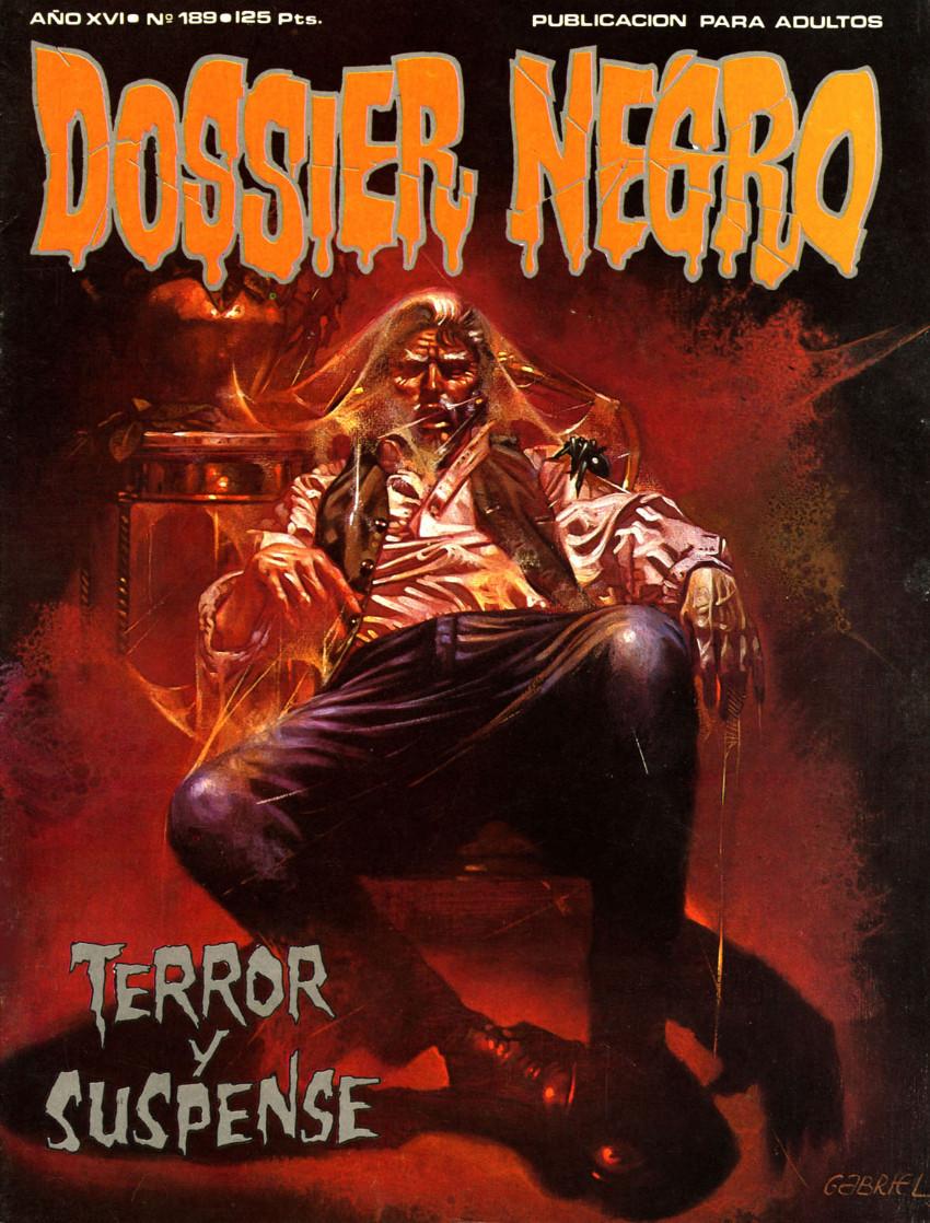 Couverture de Dossier Negro -189- Terror y suspense