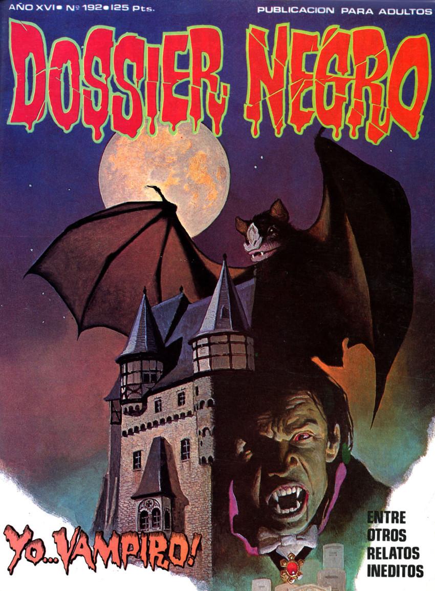 Couverture de Dossier Negro -192- Yo... vampiro !