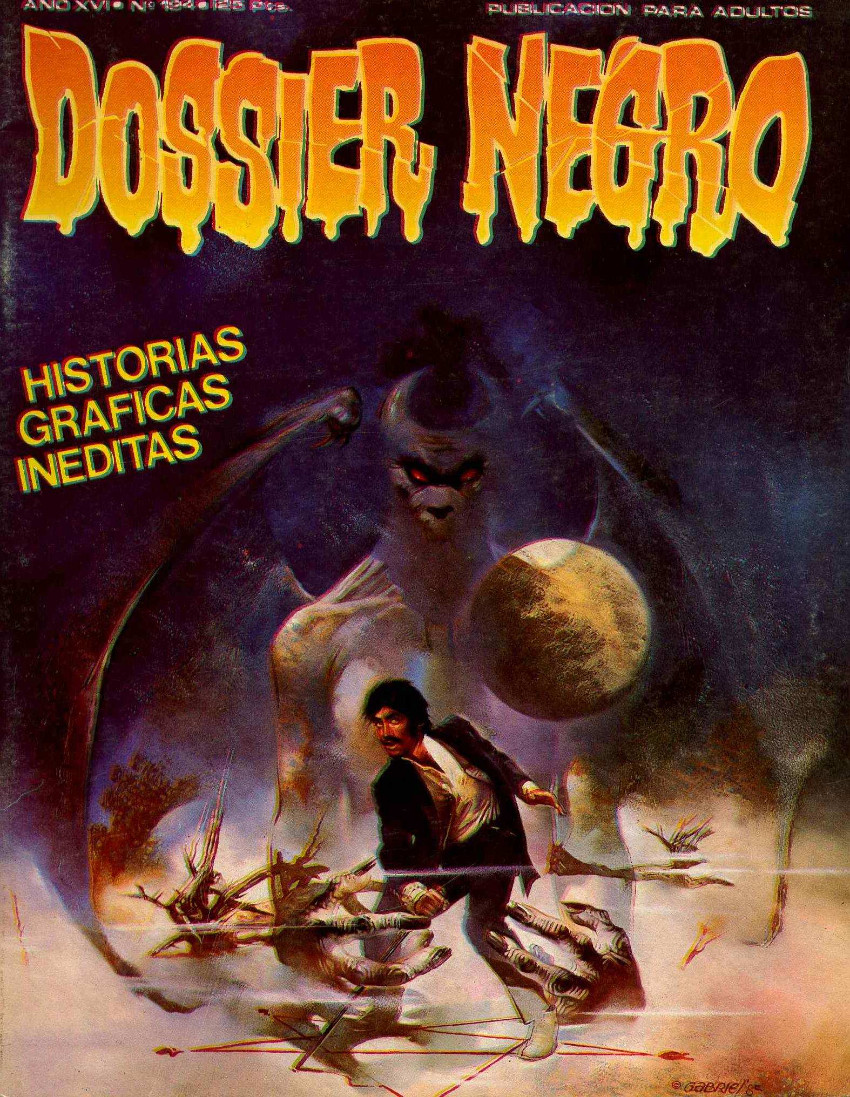 Couverture de Dossier Negro -194- Historias graficas ineditas