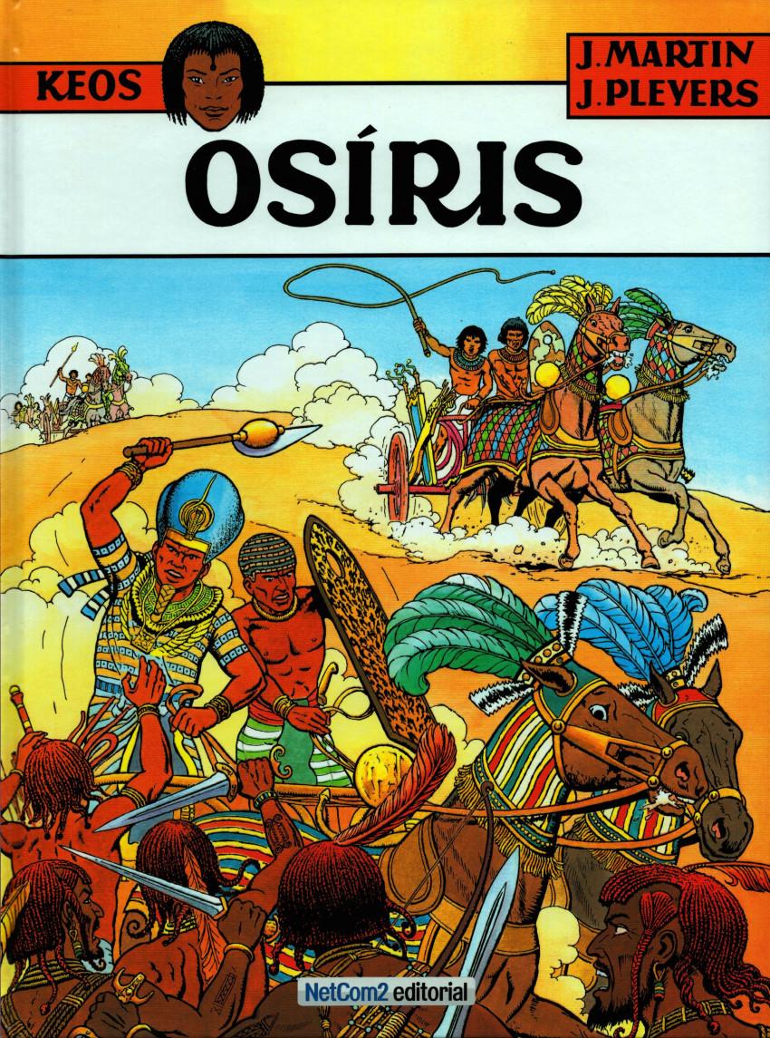 Couverture de Keos (en portugais) -1- Osíris
