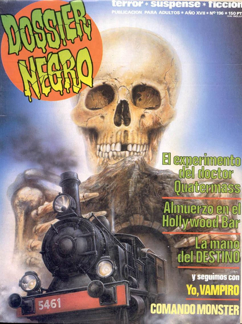 Couverture de Dossier Negro -196- Número 196