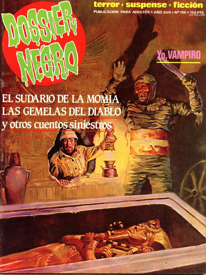 Couverture de Dossier Negro -198- Número 198