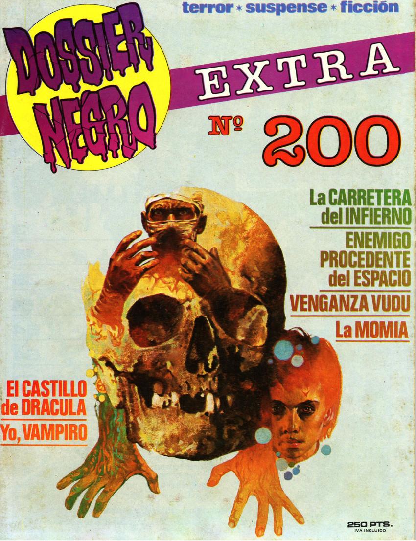 Couverture de Dossier Negro -200- Extra nº 200