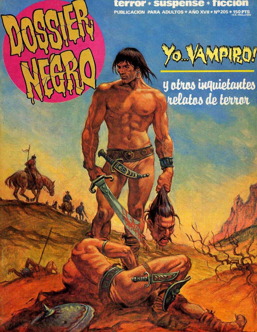 Couverture de Dossier Negro -205- Yo... vampiro !