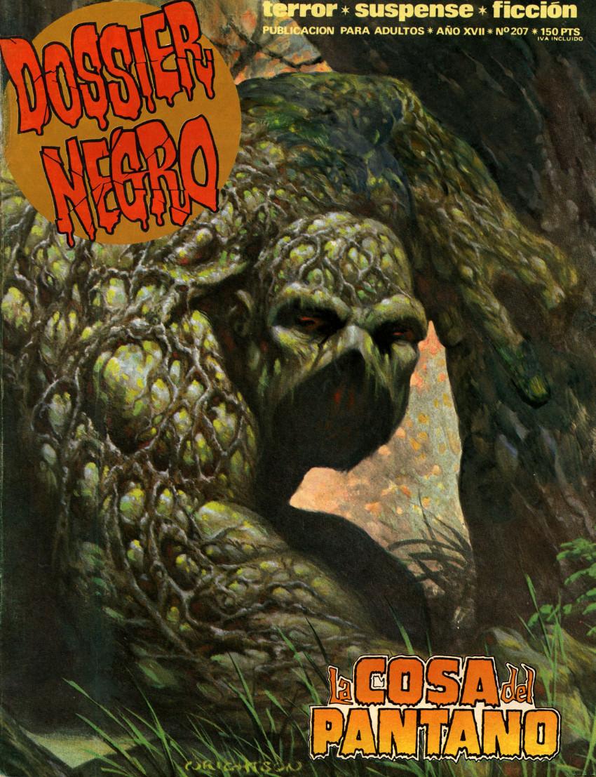 Couverture de Dossier Negro -207- La cosa del pantano