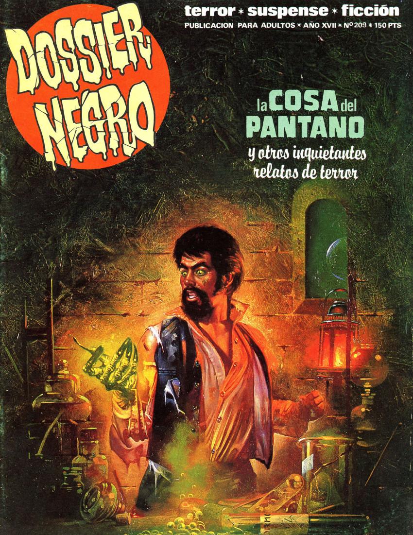 Couverture de Dossier Negro -209- La cosa del pantano