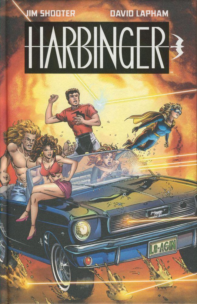 Couverture de Harbinger (1992)