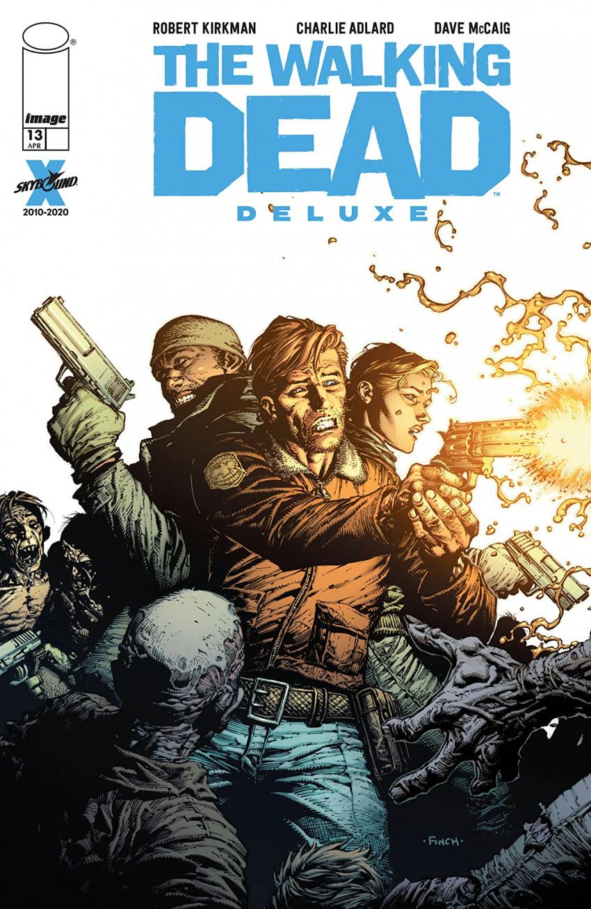 Couverture de Walking Dead (The) (2020) - Deluxe -13- Issue #13