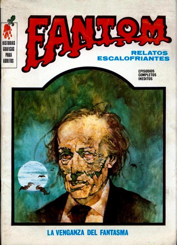 Couverture de Fantom Vol.1 (Vertice - 1972) -2- La venganza del fantasma