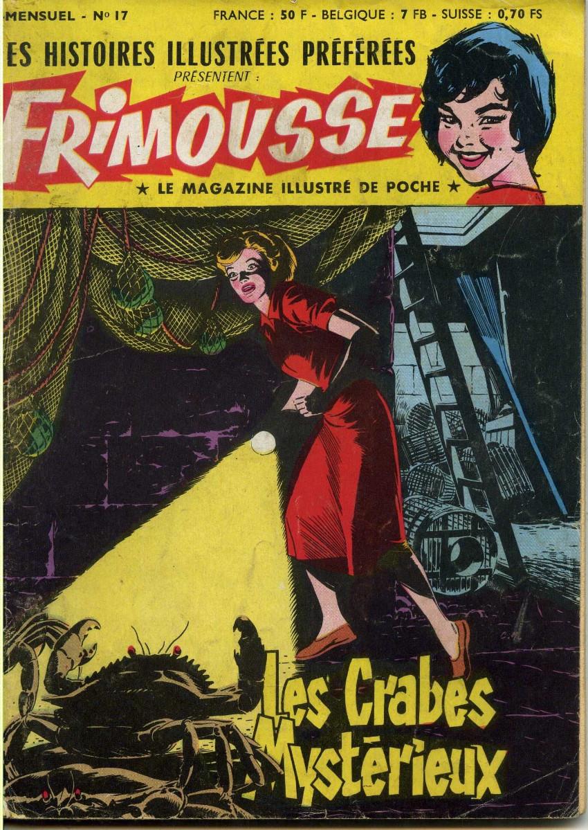 Couverture de Frimousse et Frimousse-Capucine -17- Les crabes mystérieux