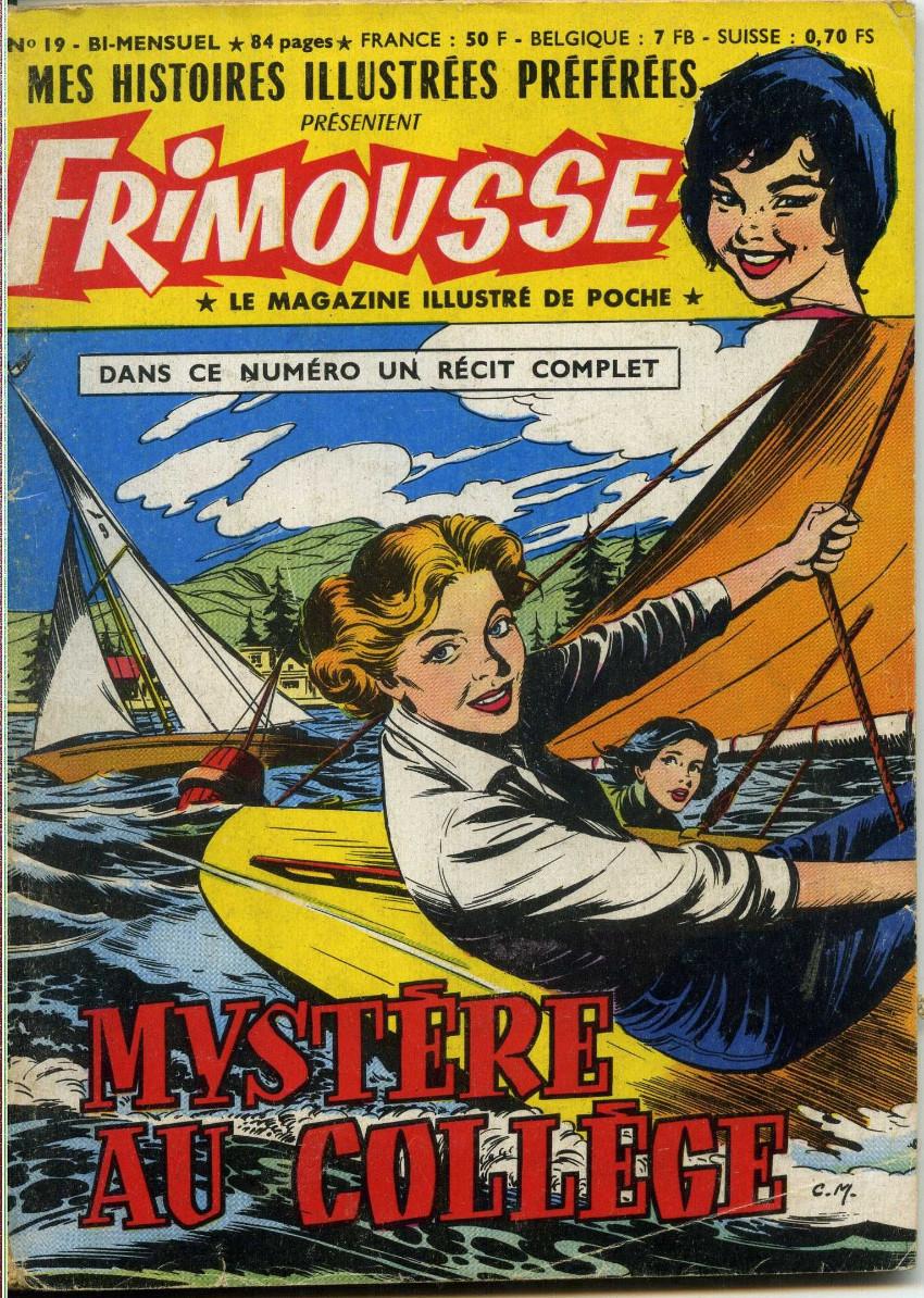 Couverture de Frimousse et Frimousse-Capucine -19- Mystère au collège