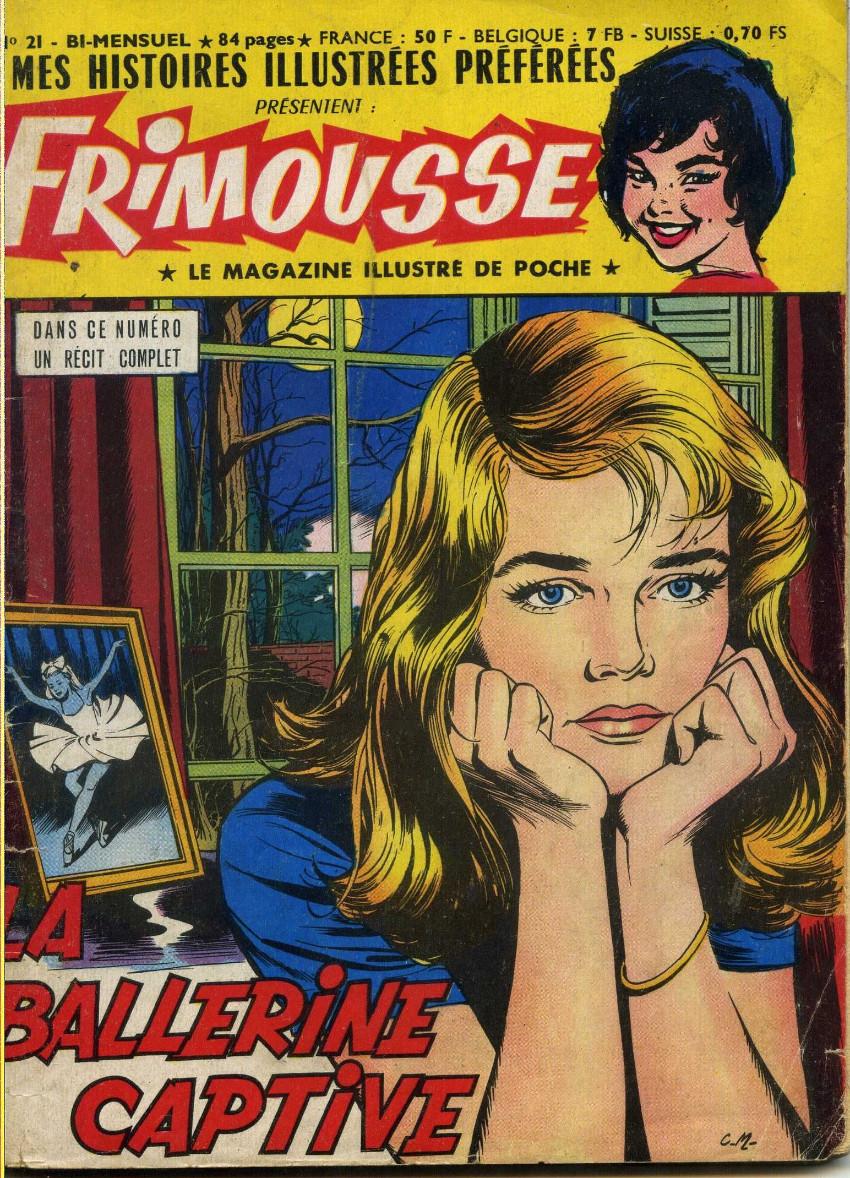 Couverture de Frimousse et Frimousse-Capucine -21- La ballerine captive