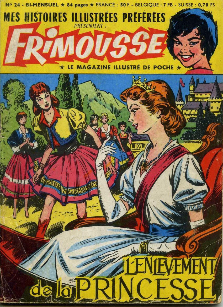 Couverture de Frimousse et Frimousse-Capucine -24- L'enlèvement de la princesse