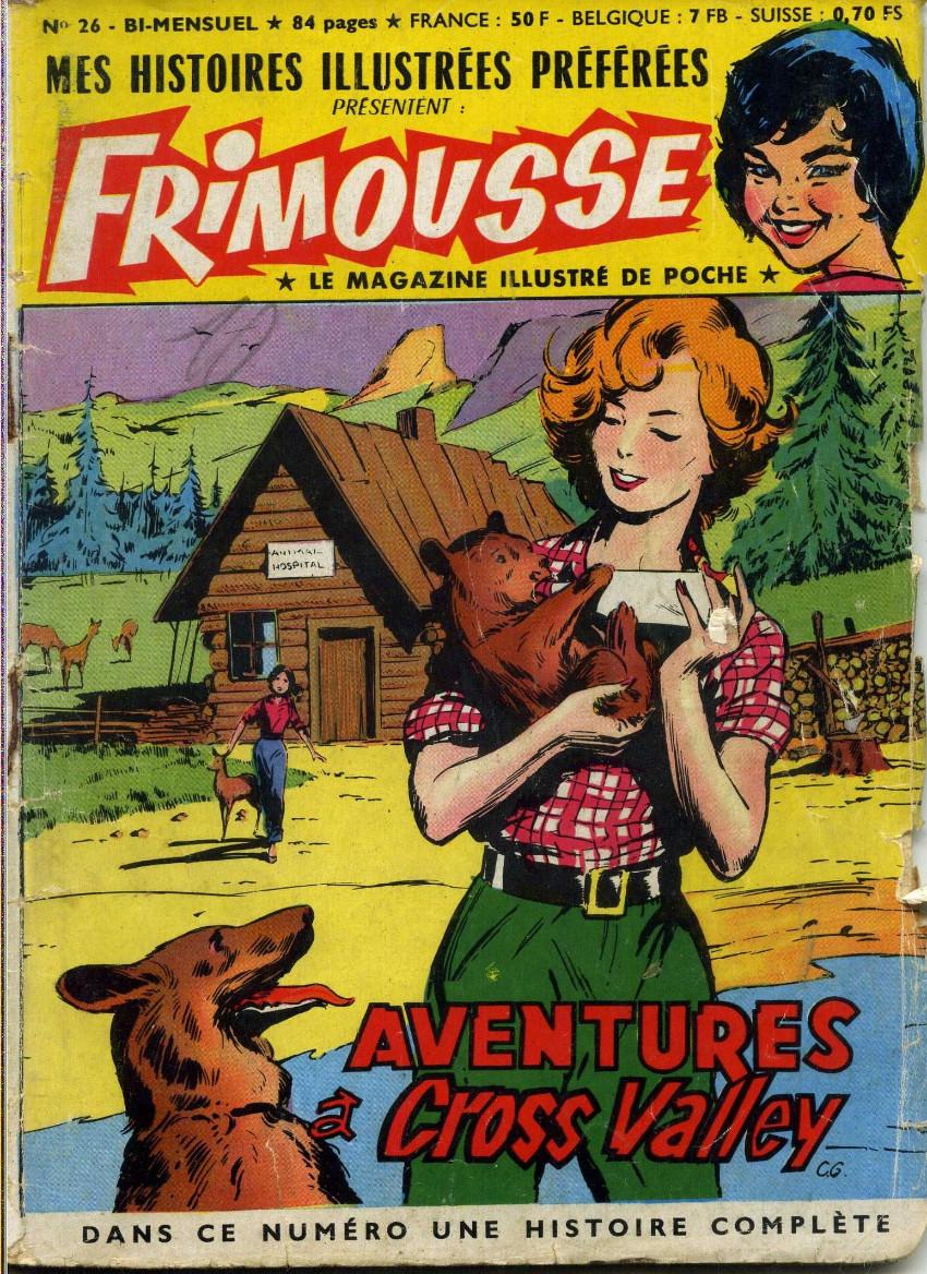 Couverture de Frimousse et Frimousse-Capucine -26- Aventures à Cross Valley
