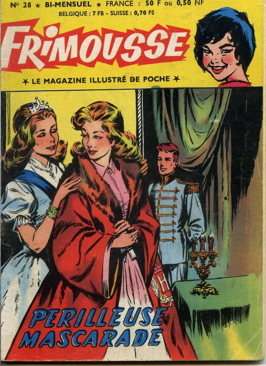 Couverture de Frimousse et Frimousse-Capucine -28- Périlleuse mascarade