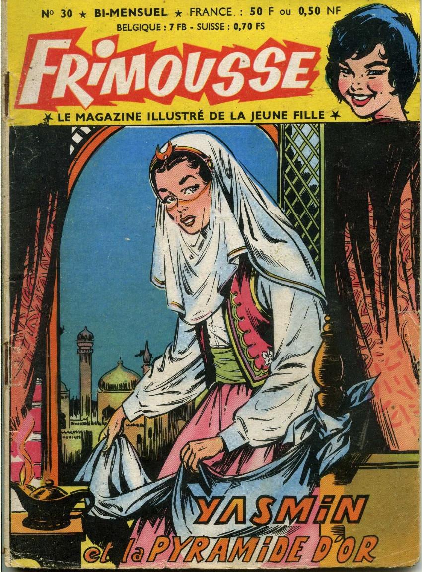 Couverture de Frimousse et Frimousse-Capucine -30- Yasmin et la pyramide d'or