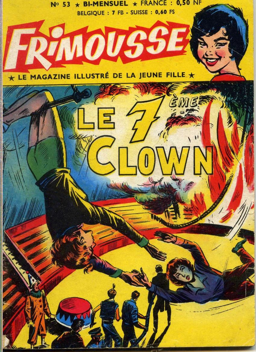Couverture de Frimousse et Frimousse-Capucine -53- Le 7° clown